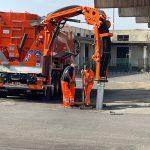 Cenere vulcanica, in comodato dalla SRR un nuovissimo mezzo per velocizzare lavori pulizia caditoie